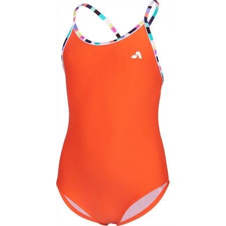 Strój kąpielowy jednoczęściowy dziewczęcy - Aress LUMA - 2