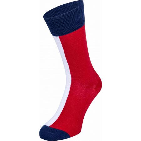 Pánske ponožky - Tommy Hilfiger MEN ICONIC FLAG SOCK 2P - 4