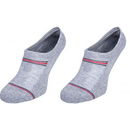 Pánske ponožky - Tommy Hilfiger MEN ICONIC SPORT FOOTIE 2P - 1