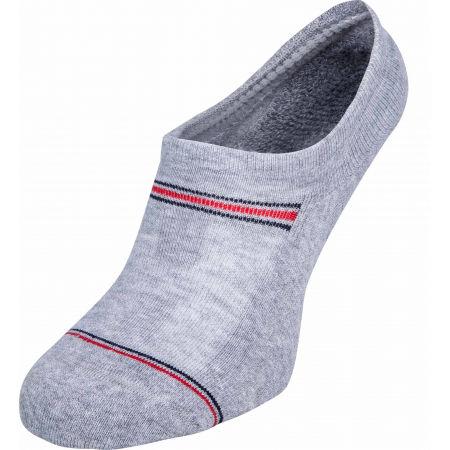 Pánske ponožky - Tommy Hilfiger MEN ICONIC SPORT FOOTIE 2P - 2