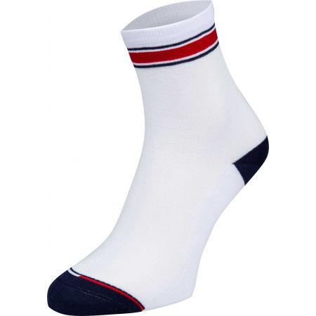 Dámske ponožky - Tommy Hilfiger WOMEN SHORT SOCK 2P TRANSLUCENT - 4