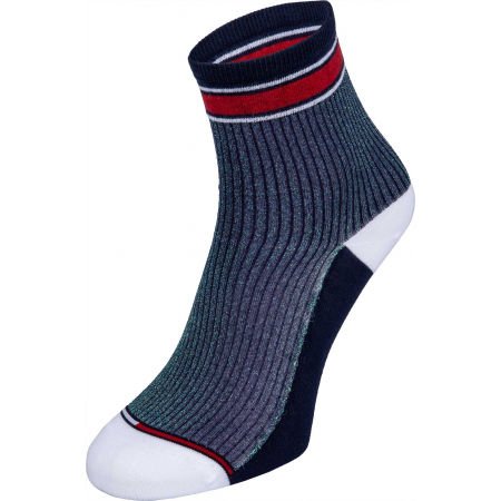 Dámske ponožky - Tommy Hilfiger WOMEN SHORT SOCK 2P TRANSLUCENT - 2