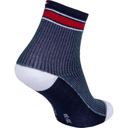 Dámske ponožky - Tommy Hilfiger WOMEN SHORT SOCK 2P TRANSLUCENT - 3