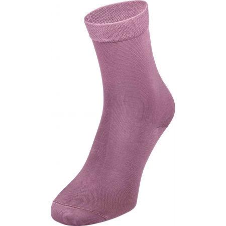Dámske ponožky - Tommy Hilfiger WOMEN SOCK 1P HEEL STRIPE - 1