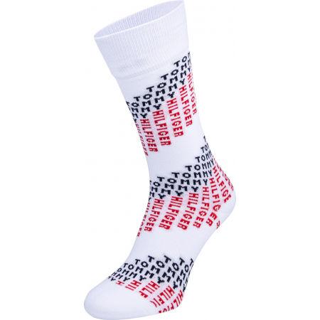 Pánske ponožky - Tommy Hilfiger MEN SOCK 2P TOMMY CHEVRON - 4