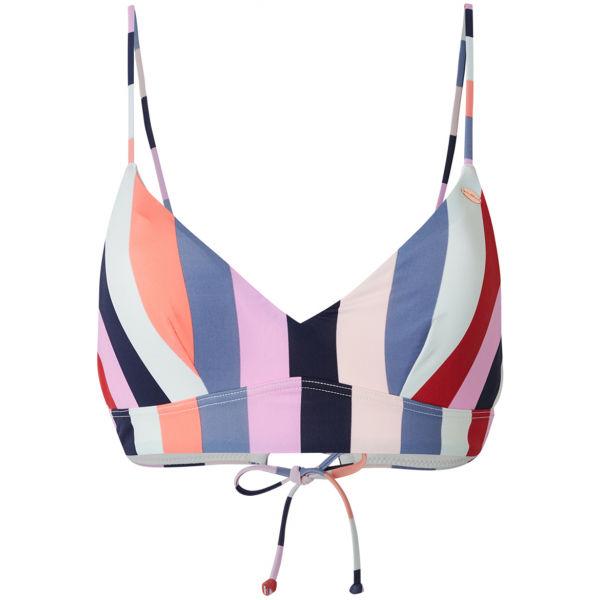 O'Neill PW WAVE MIX TOP rózsaszín 38 - Női bikini felső