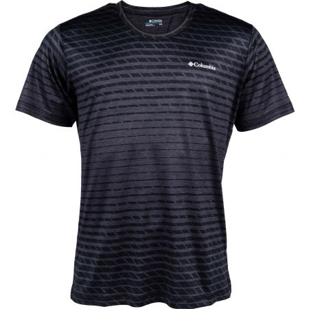 Columbia TECH TRAIL PRINT SS CREW - Men's T-shirt
