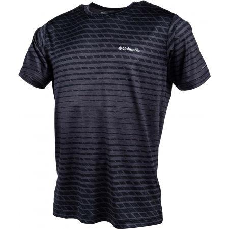 Мъжка тениска - Columbia TECH TRAIL PRINT SS CREW - 2