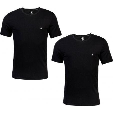 Calvin Klein S/S CREW NECK 2PK - Sada pánských triček