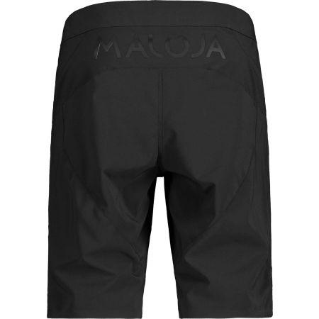 Men's biking shorts - Maloja FUORNM - 2