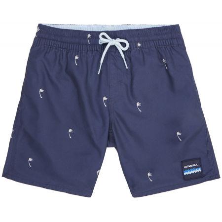 Chlapčenské kúpacie šortky - O'Neill PB MINI PALMS SHORTS - 1