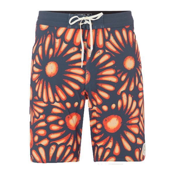 O'Neill PM HYPERFREAK SUNBURST oranžová 33 - Pánske šortky do vody