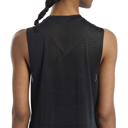 Women's sports tank top - Reebok WOR MESH TANK - 8