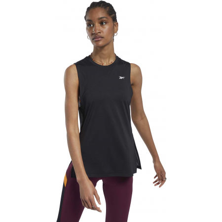 Women's sports tank top - Reebok WOR MESH TANK - 3