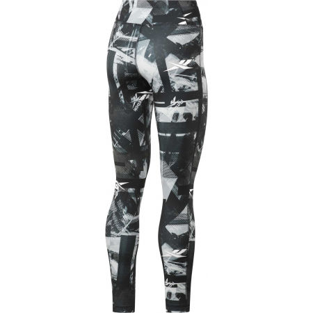Дамски клин - Reebok WOR MYT NEW AOP TIGHT - 2