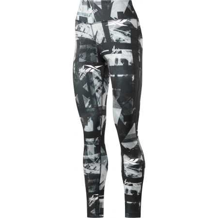 Дамски клин - Reebok WOR MYT NEW AOP TIGHT - 1