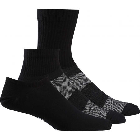Reebok TE ALL PURPOSE SOCK 3P - Zokni