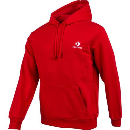 Men's sweatshirt - Converse STAR CHEVRON EMB PO HOODIE FT - 2