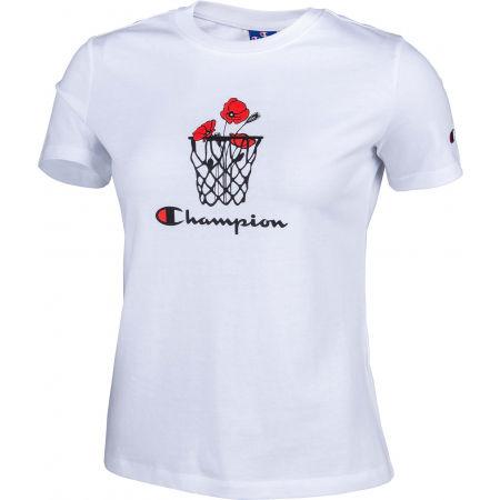 Women's T-shirt - Champion CREWNECK CROPTOP - 2