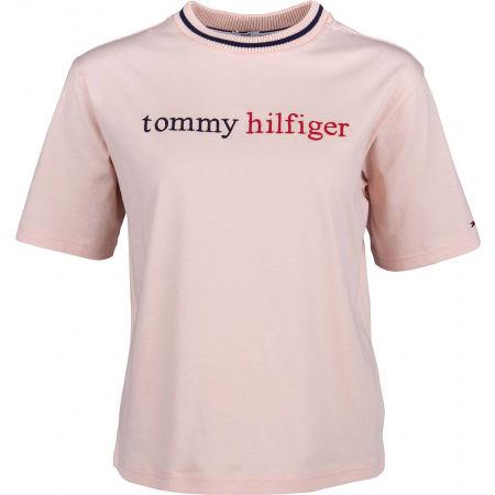 Tommy Hilfiger CN TEE SS LOGO - Дамска тениска
