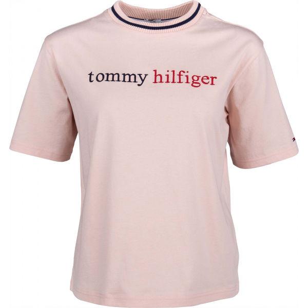 Tommy Hilfiger CN TEE SS LOGO - Dámske tričko