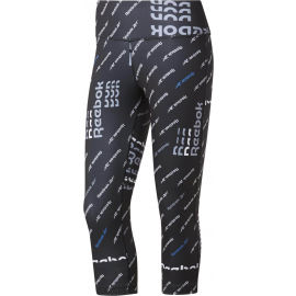 Reebok WORKOUT AOP CAPRI - Women's tights
