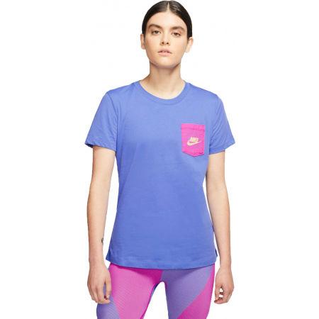 Nike NSW TEE ICON CLASH W - Damen Shirt