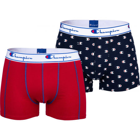 Champion BOXER CHAMPION MIX X2 - Men's boxers 2-pack