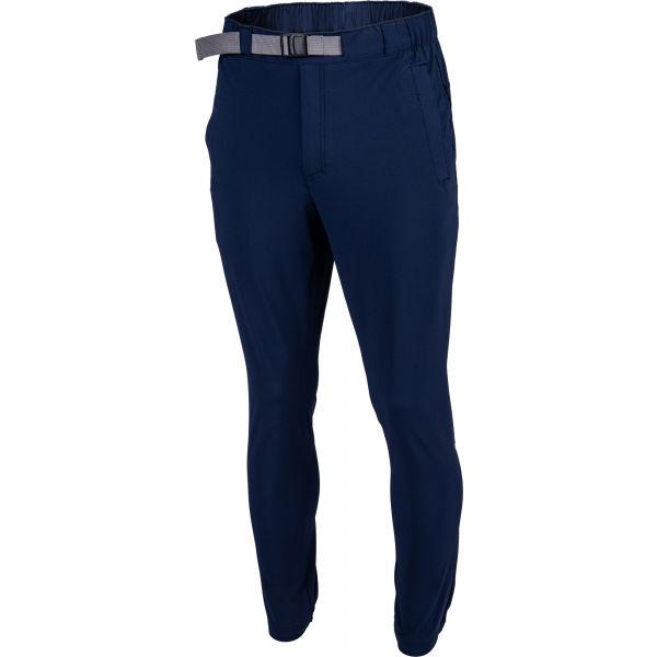 Columbia LODGE WOVEN JOGGER tmavo modrá L - Pánske outdoorové nohavice