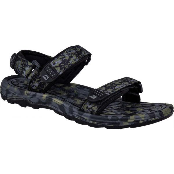 ALPINE PRO CALOS černá 46 - Pánské sandály