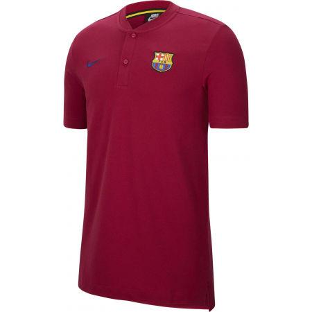 Nike FCB M NSW MODERN GSP AUT - Pánské fotbalové polotričko