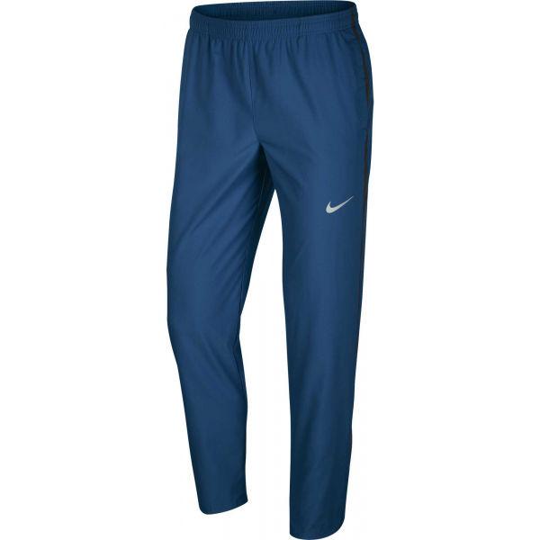 Nike RUN STRIPE WOVEN PANT M tmavo modrá L - Pánske bežecké nohavice