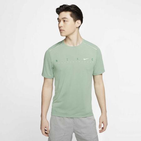 Pánské tréninkové tričko - Nike DRY MILER SS TECH PO FF M - 3