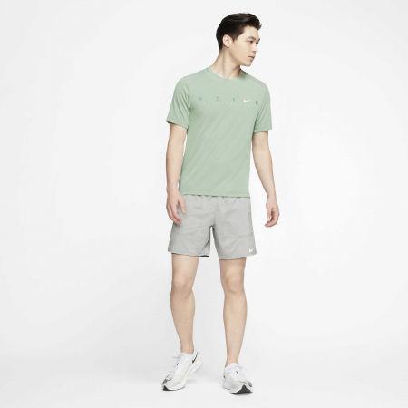 Pánské tréninkové tričko - Nike DRY MILER SS TECH PO FF M - 5