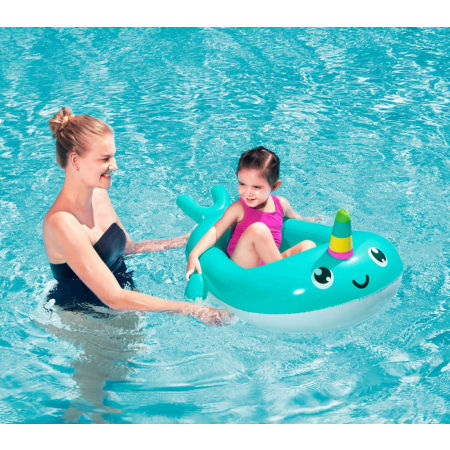 Children's inflatable raft - Bestway NARWHAL BABY BOAT - 3