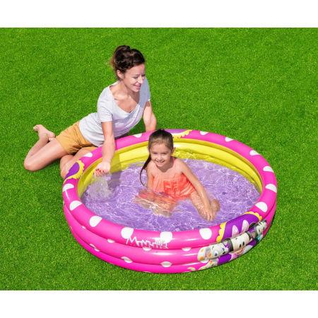 Detský bazén - Bestway MINNIE 3 RING POOL - 4
