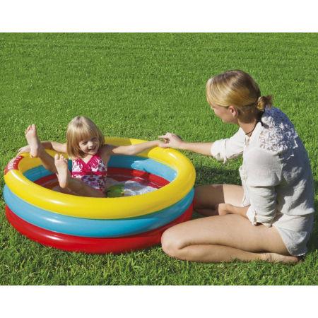 Detský bazén - Bestway 3 RING BALL PIT PLAY POOL - 6