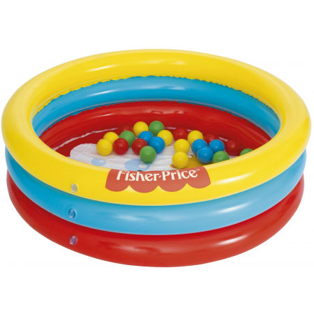 Detský bazén - Bestway 3 RING BALL PIT PLAY POOL - 2