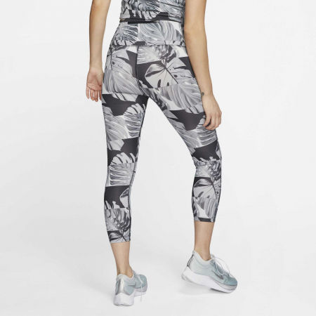 Dámske bežecké legíny - Nike FAST CROP RUNWAY PR HR W - 4