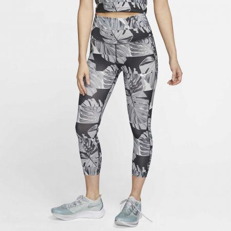 Dámske bežecké legíny - Nike FAST CROP RUNWAY PR HR W - 3