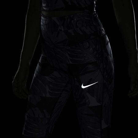 Dámske bežecké legíny - Nike FAST CROP RUNWAY PR HR W - 9
