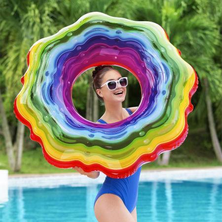 Nafukovací kruh - Bestway RAINBOW RIBBON TUBE - 3
