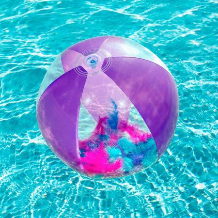 Nafukovacia lopta - Bestway FLIRTY FEATHER BEACH BALL - 4