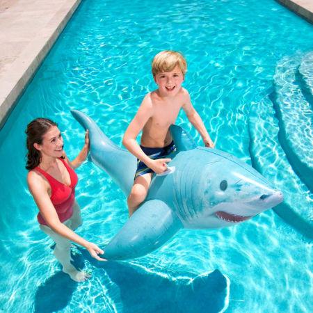Nafukovací žralok - Bestway REALISTIC SHARK RIDE-ON - 4