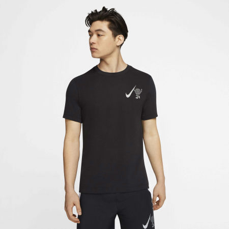 Men's running T-shirt - Nike DRY TEE WILD RUN GLOBEY M - 3