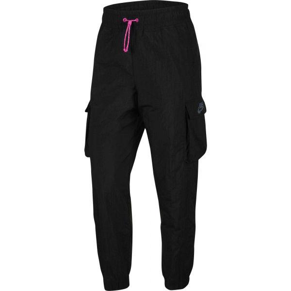 Nike NSW ICN CLSH PANT WVN W černá S - Dámské tepláky
