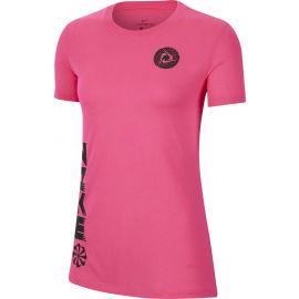 Nike DRY TEE LEG ICON CLASH W - Dámské tréninkové tričko