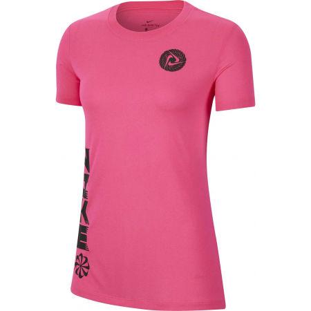 Nike DRY TEE LEG ICON CLASH W - Дамска спортна тениска
