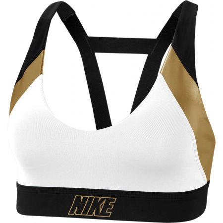 Nike INDY METALLIC LOGO BRA - Dámská sportovní podprsenka