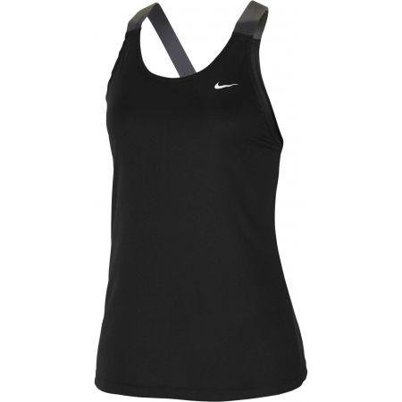 Nike NP TANK ELASTIKA PP2 CAMO W - Dámske športové tielko
